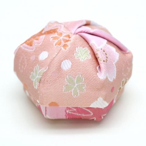 ねじり箱【満開桜にはね兎・薄ピンク】