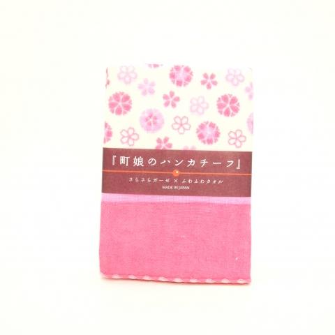 町娘のハンカチーフ【八重桜】 ※クリックポスト利用可