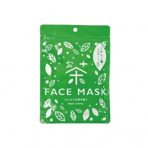 ◆京びあんフェイスマスク◆ 【お茶】※クリックポスト利用可