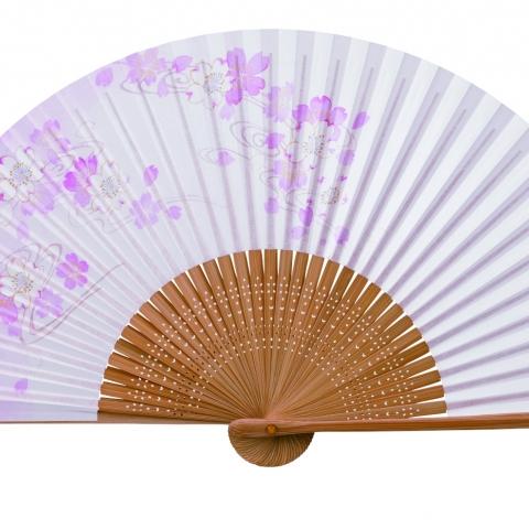 紙扇子 桜流水 単品 401