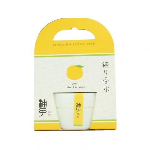 ◆果実の練り香水◆ 【柚子】