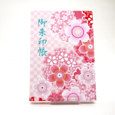 御朱印帳【雪輪桜】