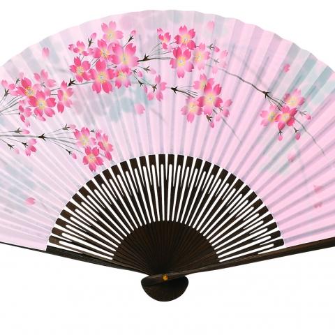 紙扇子 Large 桜 単品 604