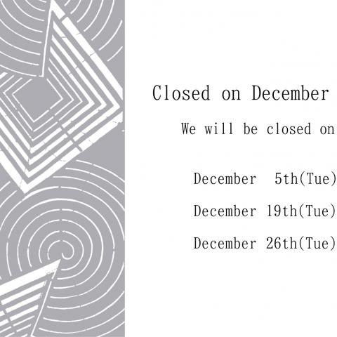 Regular holidays in December