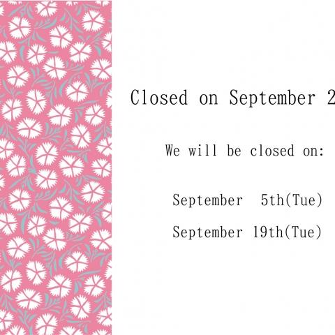 Regular holidays in September
