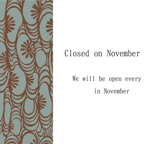 Regular holidays in November