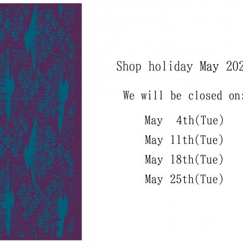 Regular holidays in May