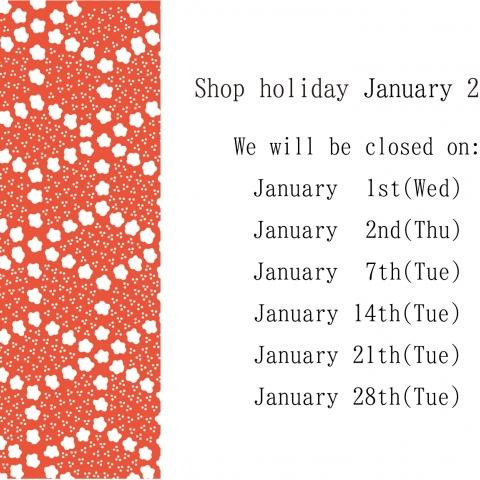 Regular holidays in January
